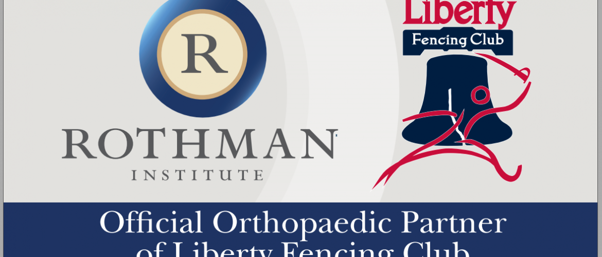 The Rothman Institute Partners with Liberty Fencing Club in the Sport of Fencing